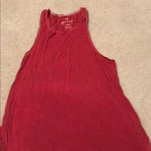 Soft & Sexy AEO Red Racer Back Tank